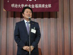 一億活躍大臣の松山先輩のご挨拶!!